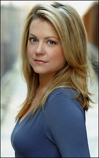 Kendra Kassebaum currently playing Glinda in Wicked