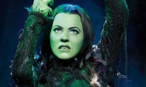 Rachel Tucker in Wicked as Elphaba