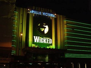 Wicked Apollo Victoria Theatre