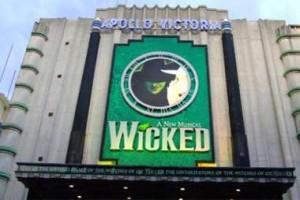 Wicked at Apollo Victoria Theatre