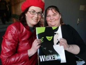Joann Pettiford have seen the stage show Wicked 100 times