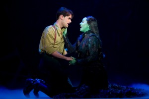"Chris Peluso and Vicki Noon play unlikely lovers Fiyero and Elphaba in the second national tour of ""Wicked,"" playing at Overture Center through Oct. 10, 2010."