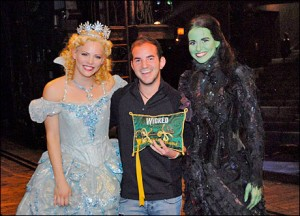 Katie Rose Clarke, Brett LaTorre and Mandy Gonzalez