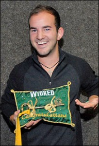 Brett LaTorre, Wicked's 5 Millionth Broadway Audience Member