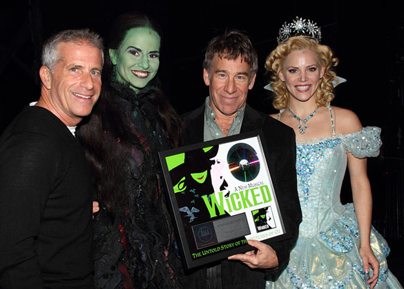 Marc Platt, Mandy Gonzales, Stephen Schwartz, and Katie Rose Clarke