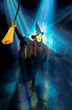 Anne Brummel Defies Gravity as Elphaba in Wicked