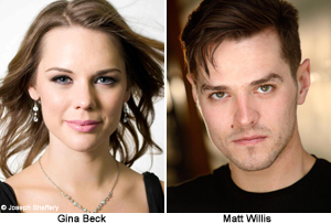 Gina Beck and Matt Willis to Join Wicked