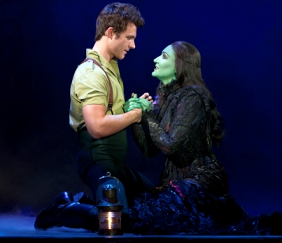 David Nathan Perlow and Anne Brummel in Wicked