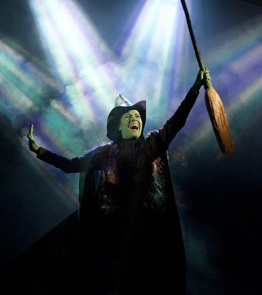 Mamie Parris as Elphaba in Wicked Tour