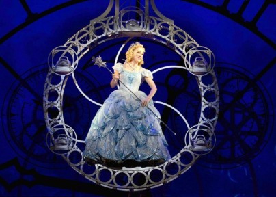 Tiffany Haas as Glinda the Good Witch in Wicked Norfolk's Chrysler Hall