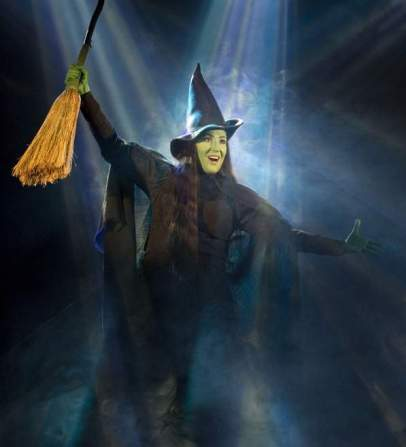 Elphaba Cast Anne Brummel in Wicked