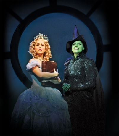 Nicole Parker with Alli Nauzey in Wicked