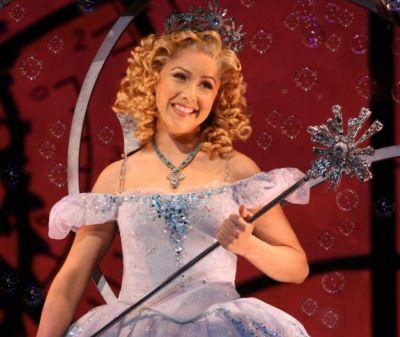 Alli Mauzey as Glinda in Wicked