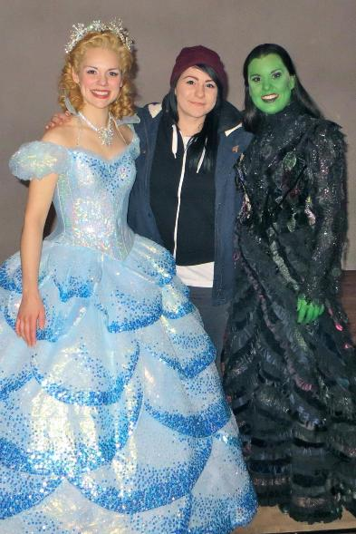 Lucy Spraggan with Wicked Lead Cast
