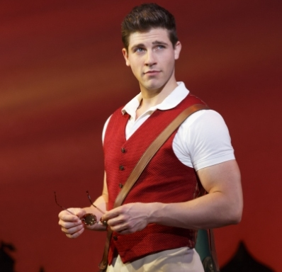 Curt Hansen in Wicked as Fiyero
