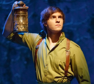 Derek Klena in Wicked Broadway as Fiyero