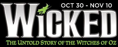 Wicked Musical Tour in Des Moines