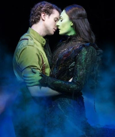 Jeremy Taylor as Fiyero and Willemijn Verkaik